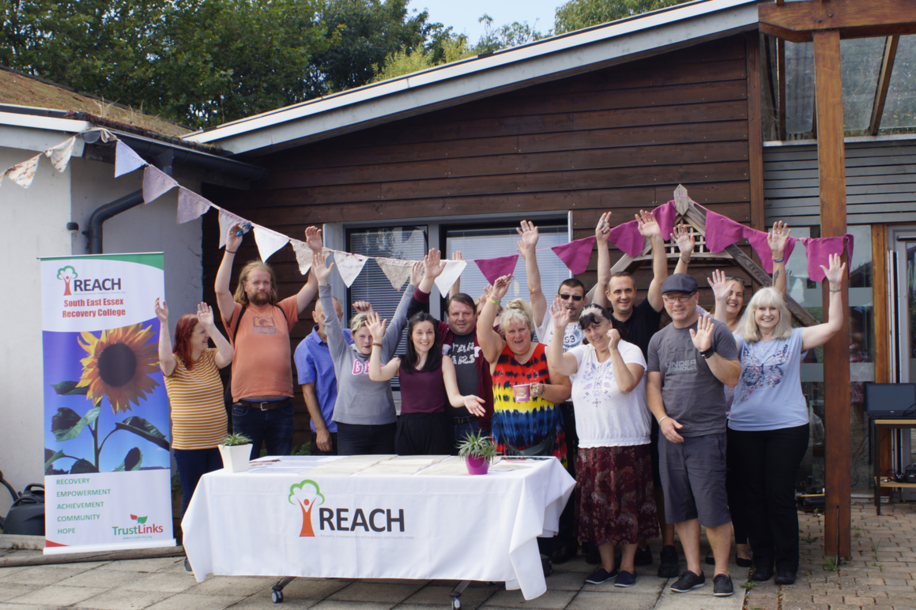 REACH members at the 2018 BBQ