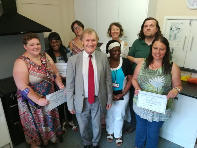 Sir David Amess MP supports our new online wellbeing service
