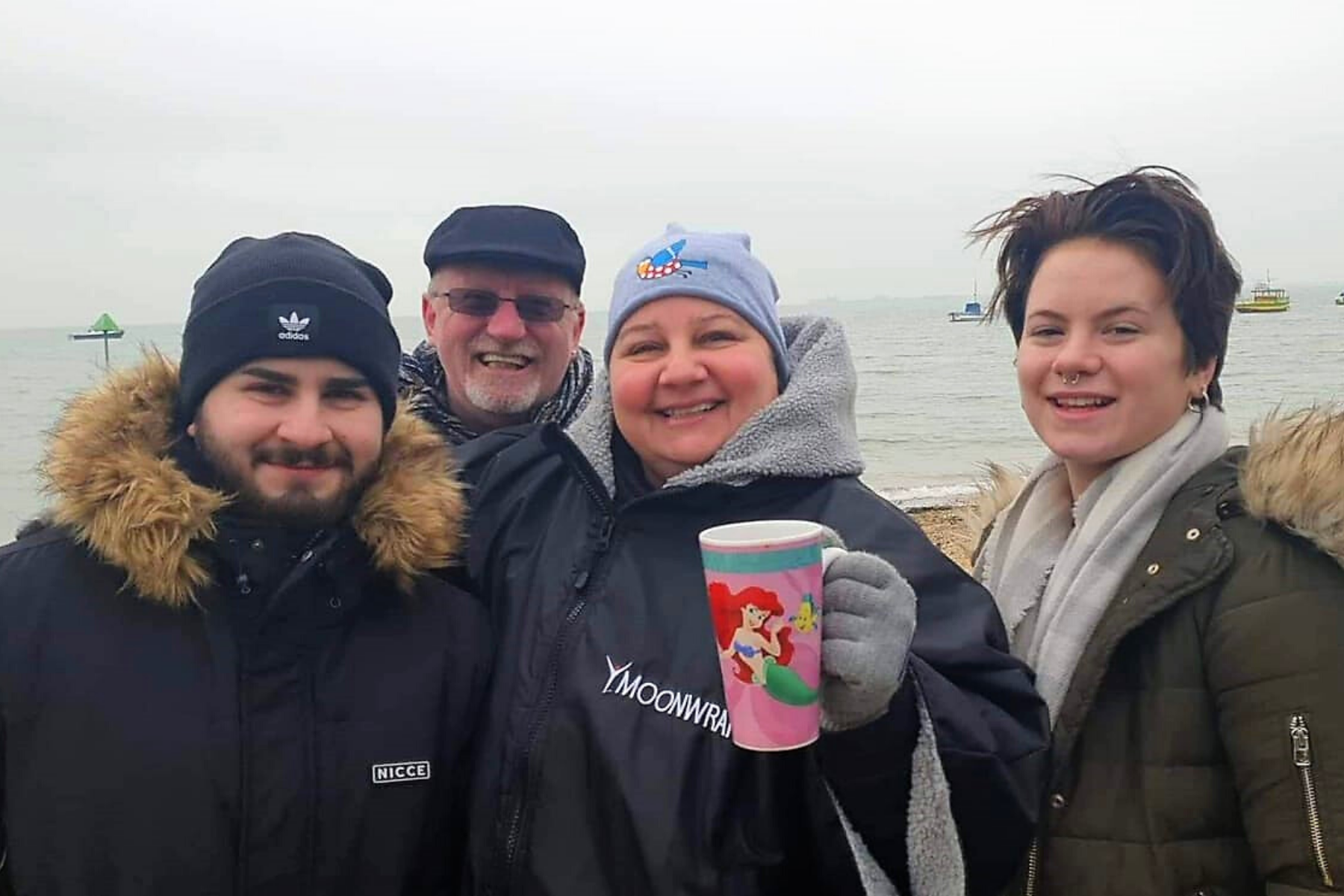 Arctic Flappers Challenge – Staff member Maria takes on 20 winter swims to support Mental Health