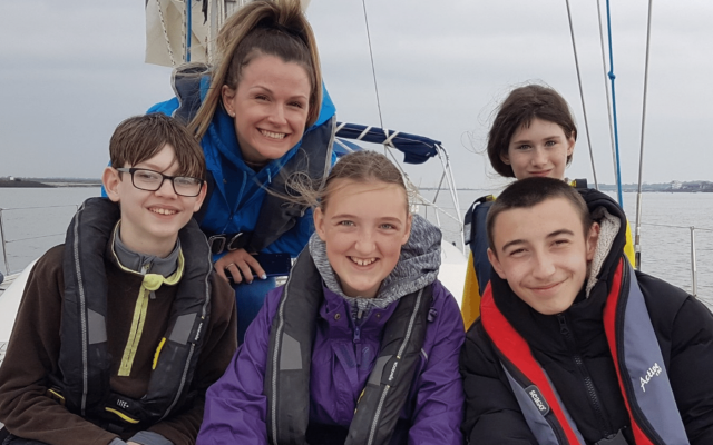 Youth Links sail with Rannock Adventure