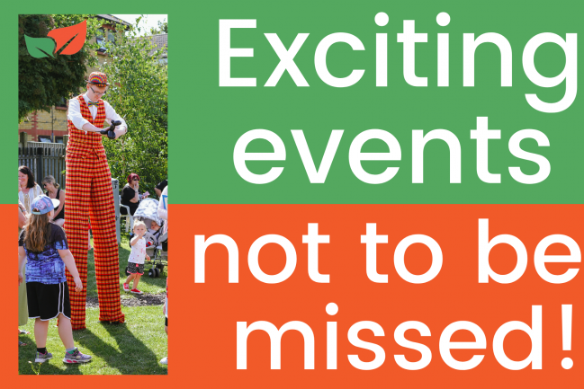 Exciting events not to miss are coming soon! Read on to find out more…
